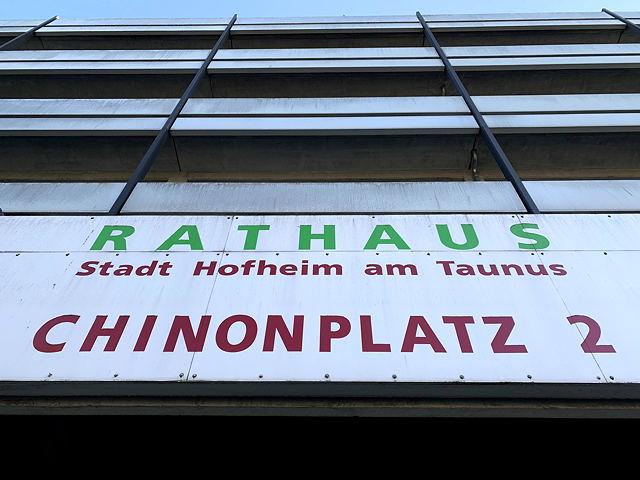 Rathaus-Fenster