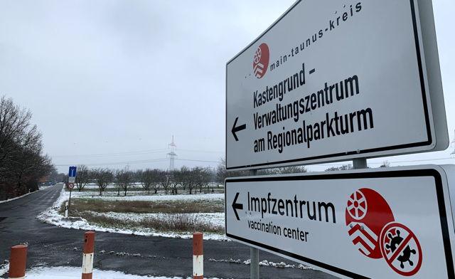 20210203 Impfzentrum Hattersheim